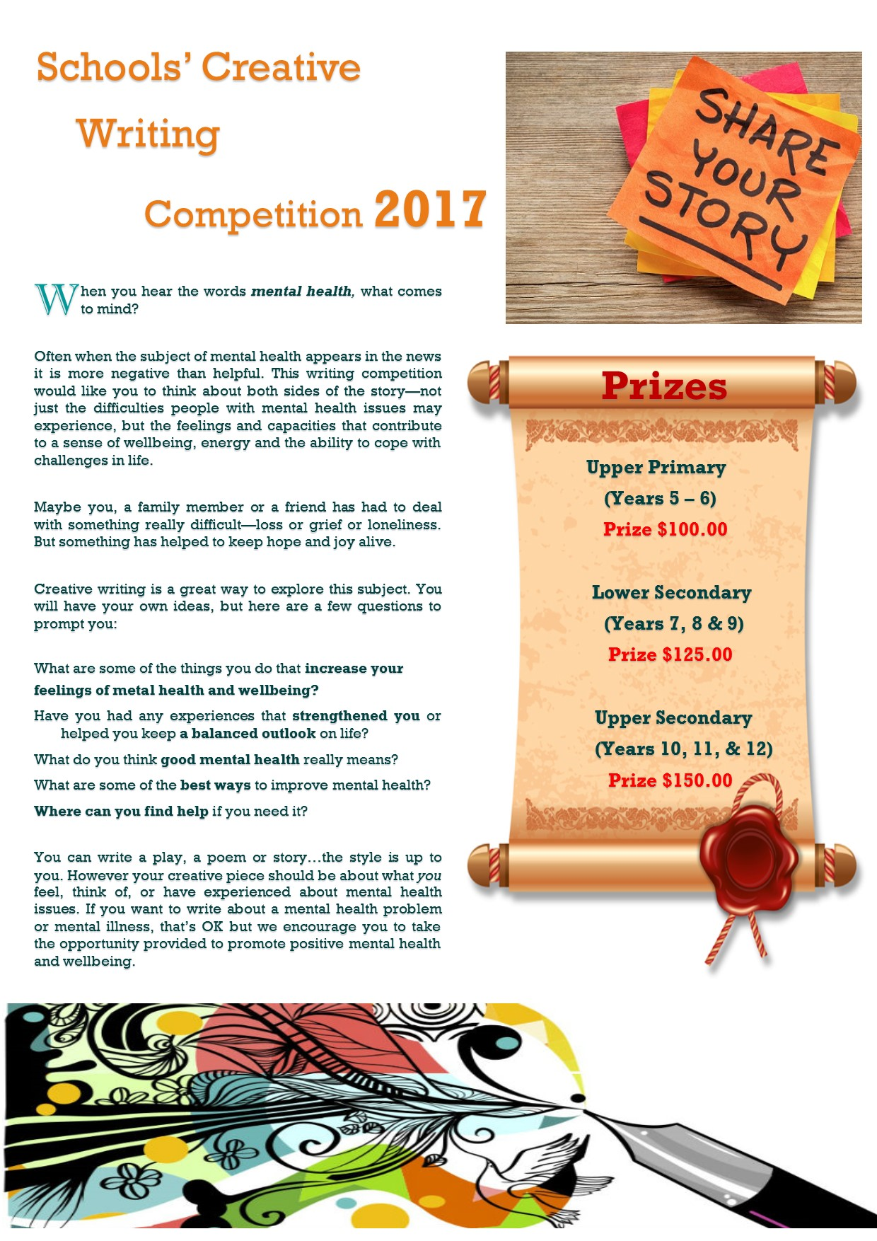 Healing Words Poetry Competition Celebrates Role of Creative
